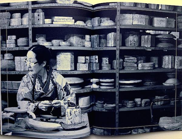 Setsuko Klossowska de Rola at Astier de Villatte in Cabana Magazine