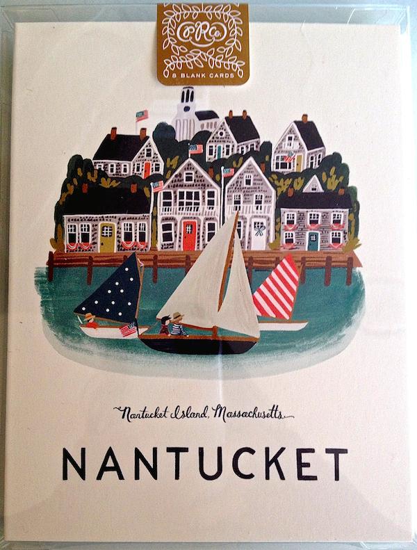 Rifle Paper Nantucket notecards