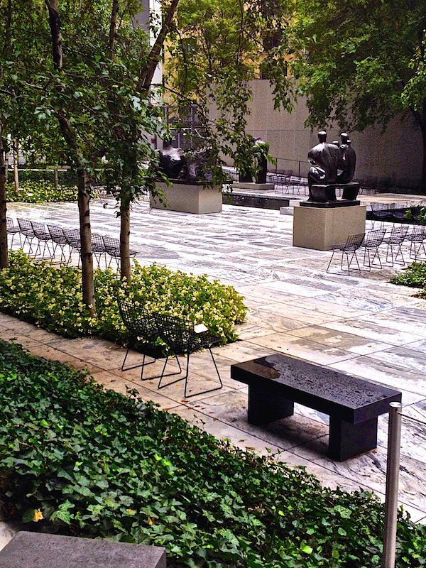 Museum of Modern Art Sculpture Garden