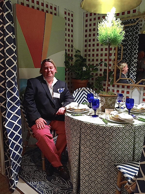 Parker Rogers at the Rooms with a View Designer Showhouse