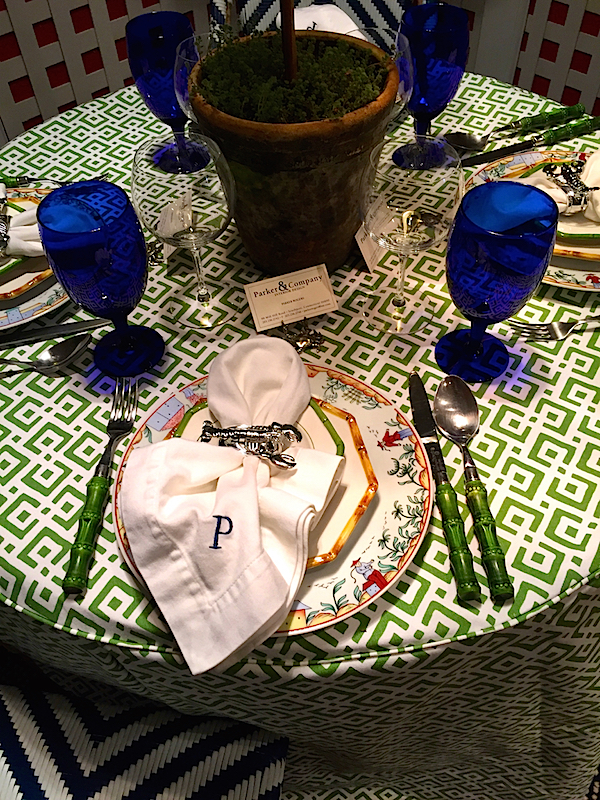 Parker Rogers vignette for the Rooms with a View designer showhouse