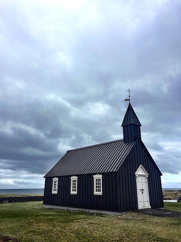 Iceland, black church of Buoir, photo by Susanna Salk