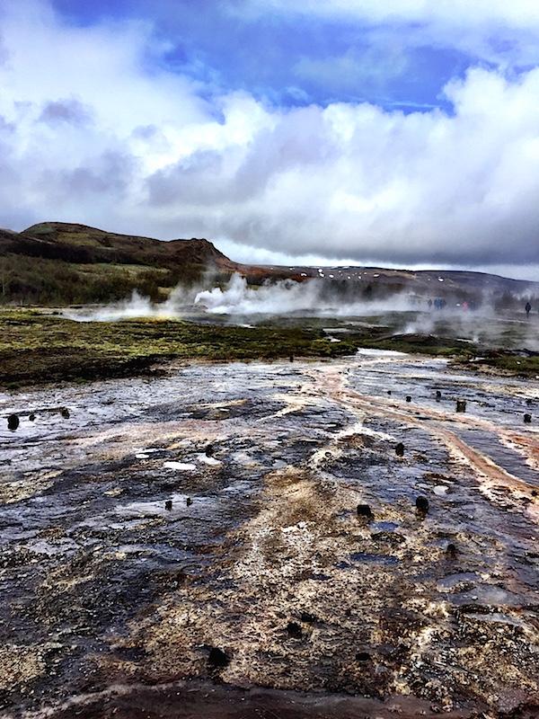 Iceland geysir in the Golden Circle, photo by Susanna Salk