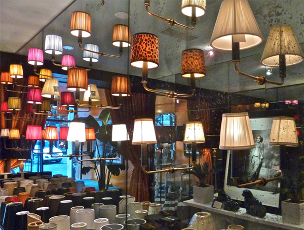 French sconce lampshades at Illumé