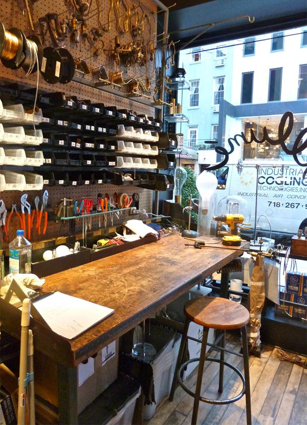 Designer lighting repair shop NYC