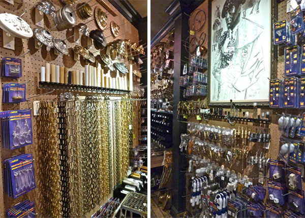 Lighting hardware store NYC