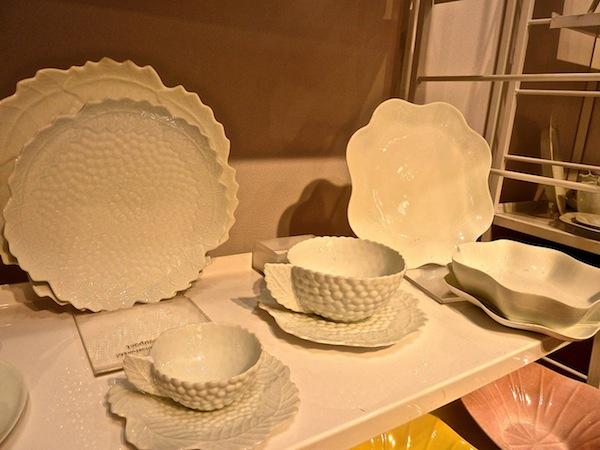 New York Gift Fair | Jacques Pergay porcelain & New York Gift Fair - Tabletop Temptation Two