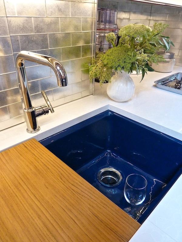 House beautiful mick de giulio kitchen of the year - Jonathan adler sink ...
