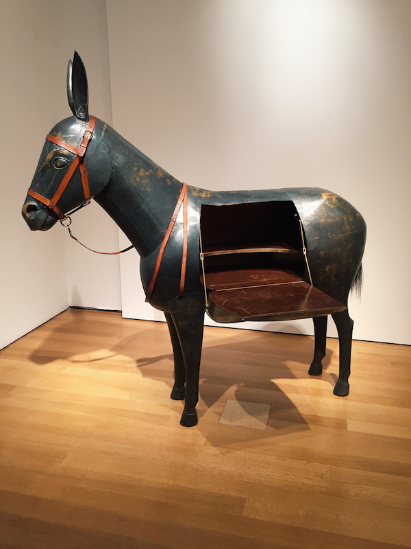 Lalanne bronze donkey desk at Christie's spring design auction