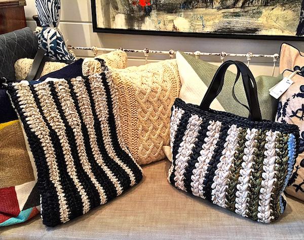 Lorenza Gandaglia handbags at Atlantic, Nantucket