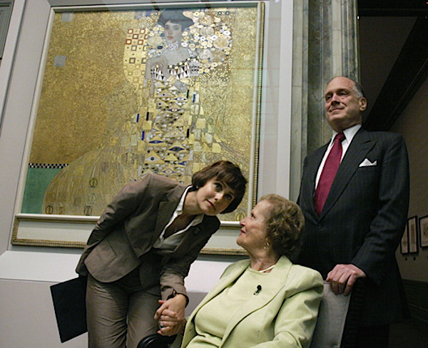 Maria Altmann at Neue Galerie after Woman in Gold acquisition