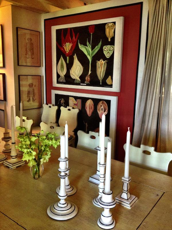 Marian McEvoy dining room