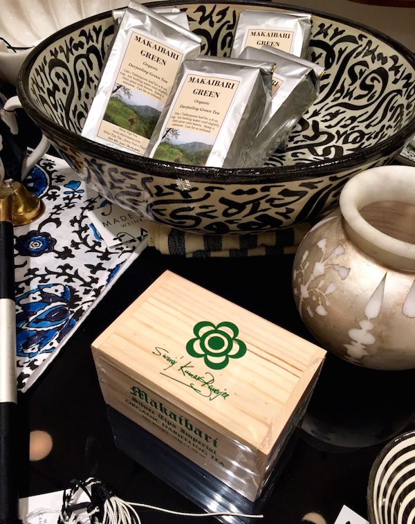 Mataibari Organic Darjeeling at Madeline Weinrib Pop-Up at Barney's