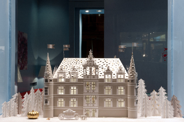 Mathilde Nivet paper castle