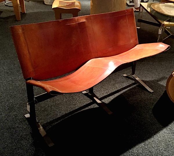 Max Gottschalk bench at David Bell antiques