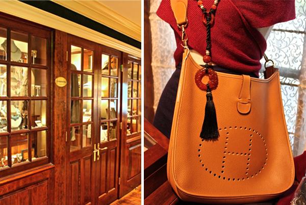 Vintage Hermes at the Mayflower Inn