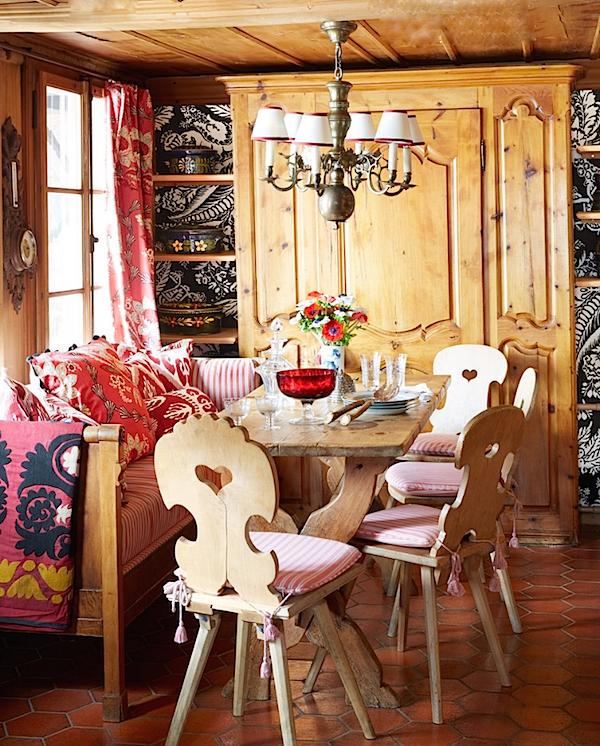 Michelle Nussbaumer Gstaad kitchen