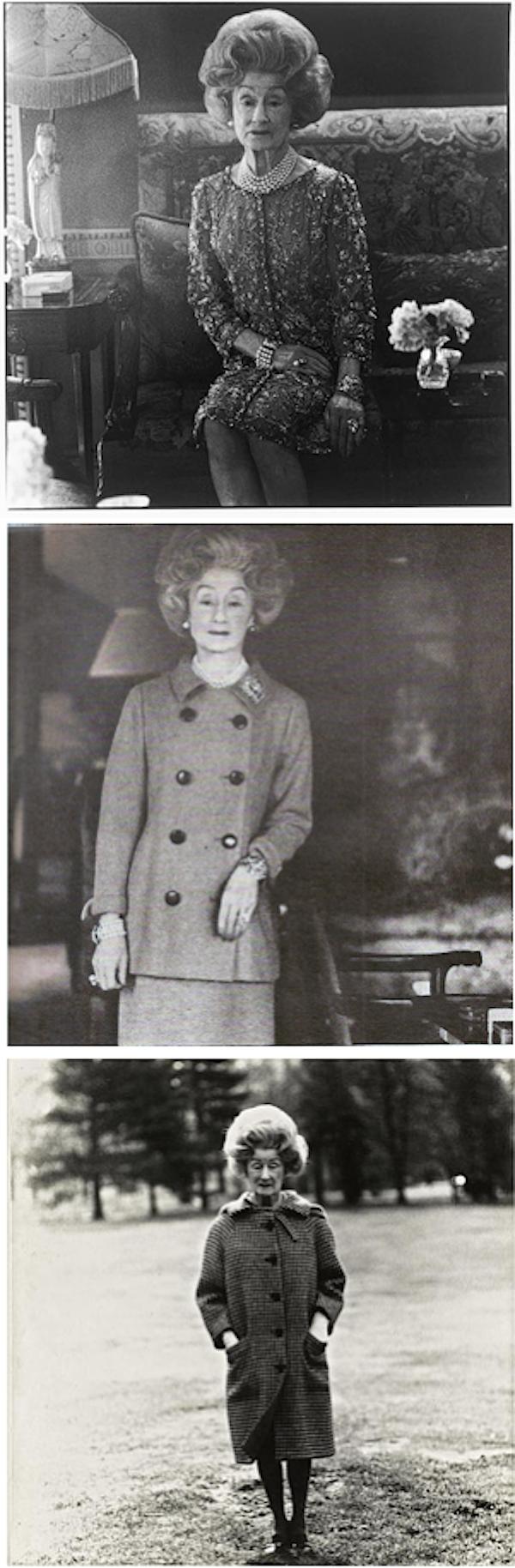 Mrs. Charlton Henry in Doug Meyer Legends window