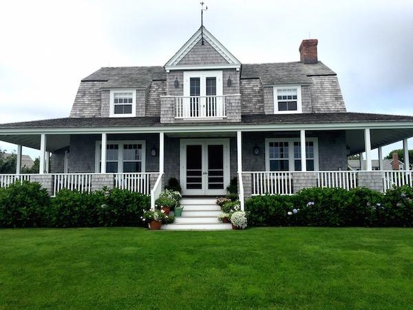 Nantucket House tour back porch