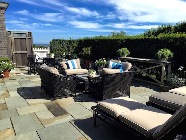 Nantucket House tour terrace