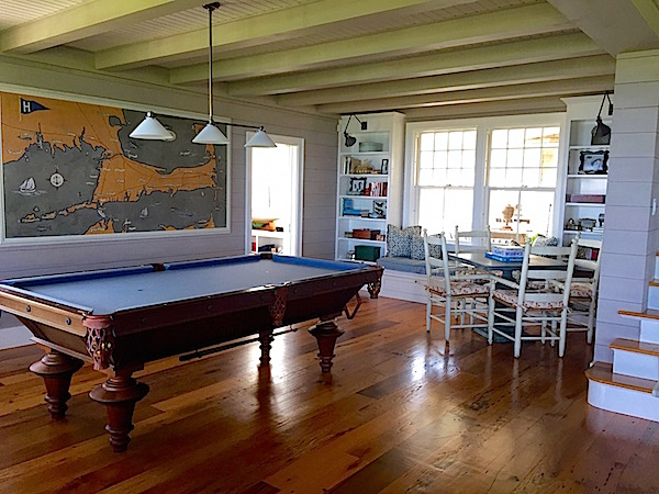 Nantucket house game space