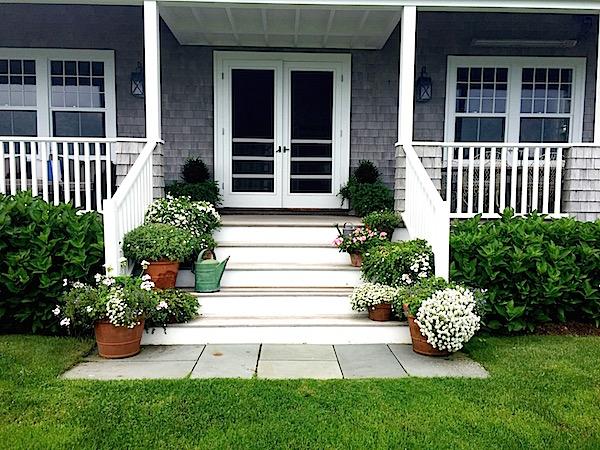 Nantucket house tour flowers