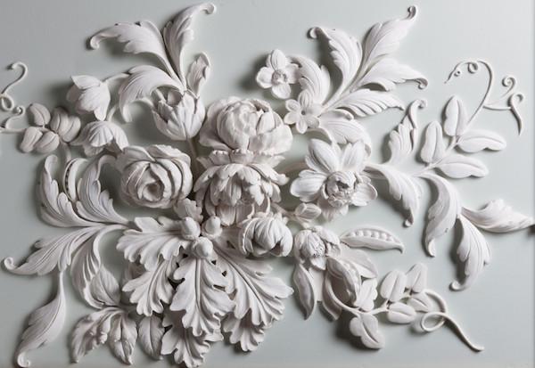 New Flower panel by Geoffrey Preston