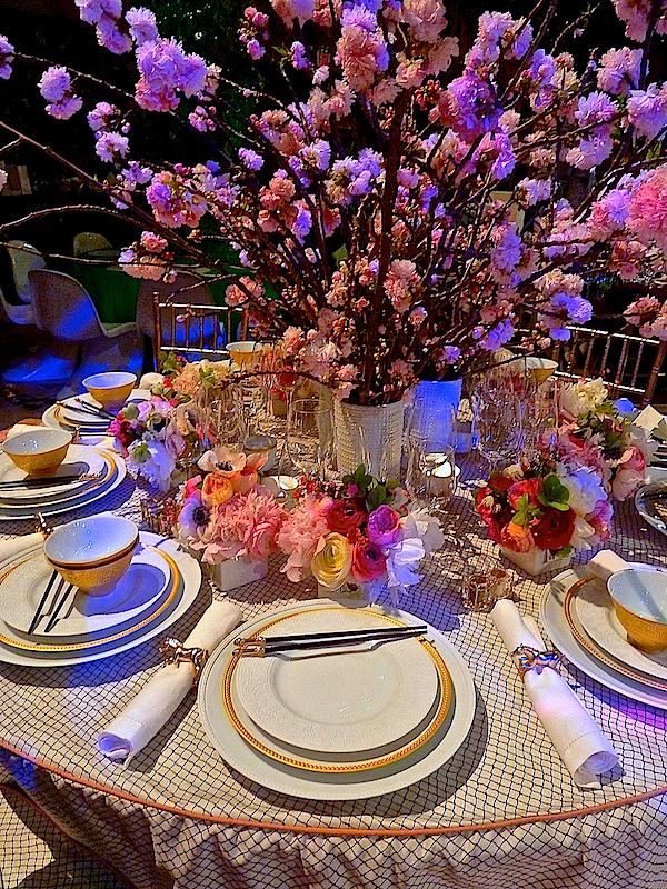 Nicole Gibbons Lenox Hill gala table