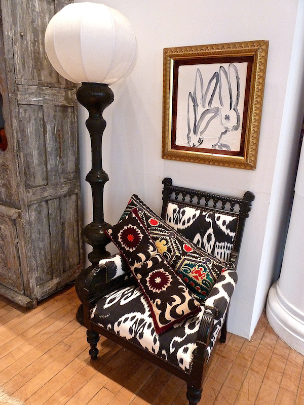 Madeline Weinrib furniture and pillows