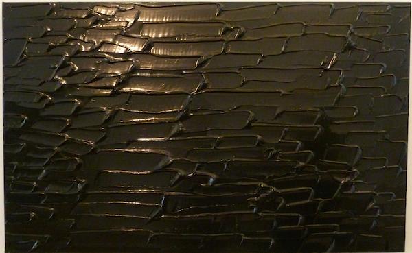 Pierre Soulages, Peinture 102 x 165 CM, 17 Juillet 2013