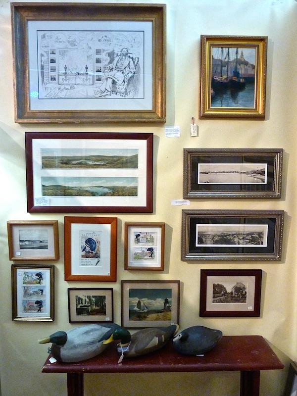 Nina Hellman at the 2014 Antiques & design Show of Nantucket