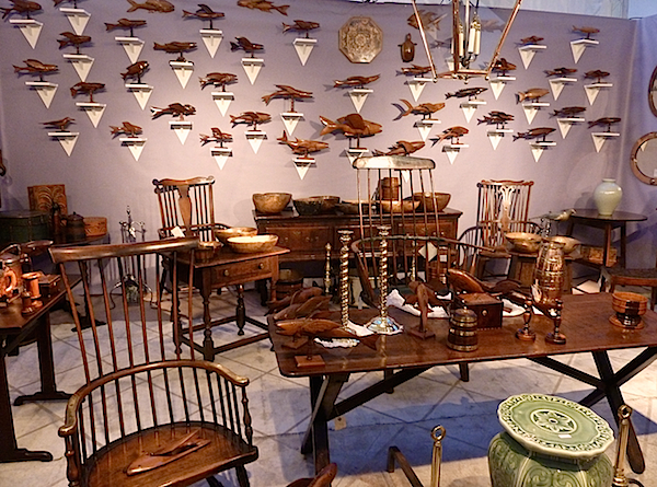 Yew Tree House Antiques at the 2014 Antiques & Design Show of Nantucket