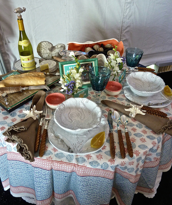 Best of the Beach at A Perfect Setting at the Nantucket Antiques Show