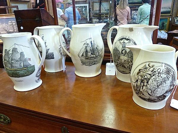 Liverpool jugs at Rafael Osona auction
