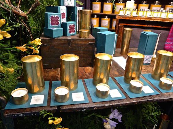 Bellocq candles at NY Now Market