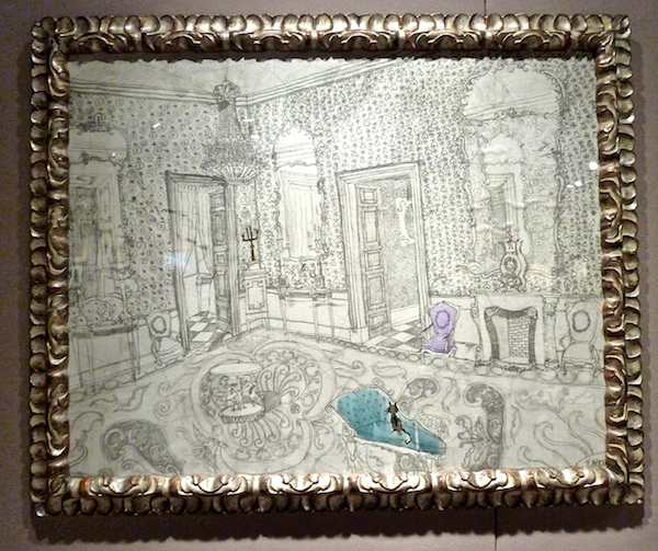 Francisca Ahlers at Villa del Arte Gallery at the 2014 New York Art, Antique & Jewelry Show