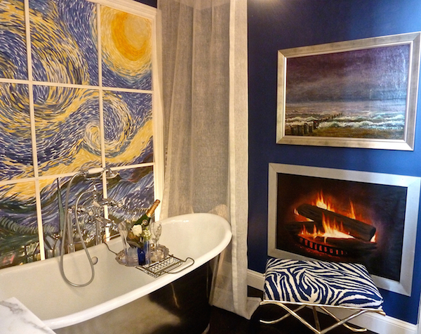 NYSID vignette for the Rooms with a View designer showhouse