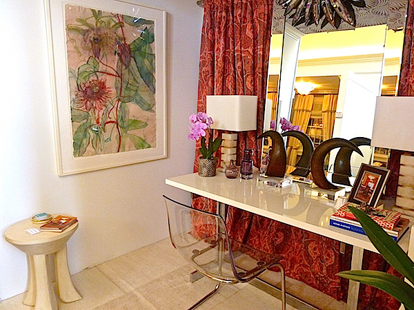 Tara Seawright vignette for the Rooms with a View designer showhouse