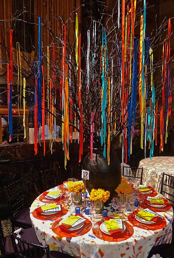 Patrick Mele Lenox Hill Gala table