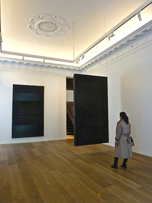 Pierre Soulages exhibit