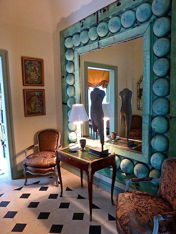 At home with susanna salk and robert couturier - Robert couturier interior design ...