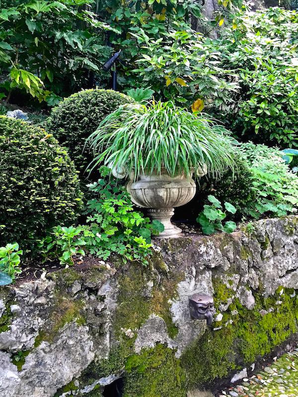 Romeo Sozzi gardens at his villa