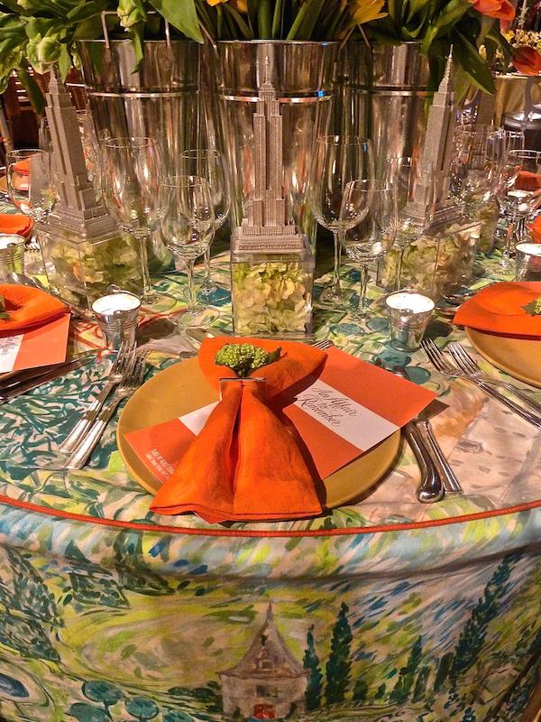 Roric Tobin for Geoffrey Bradfield Lenox Hil gala table