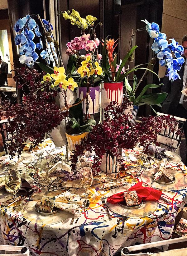 Roric Tobin Orchid dinner 2015