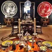 Russell Piccione dining room at Sotheby's Showhouse