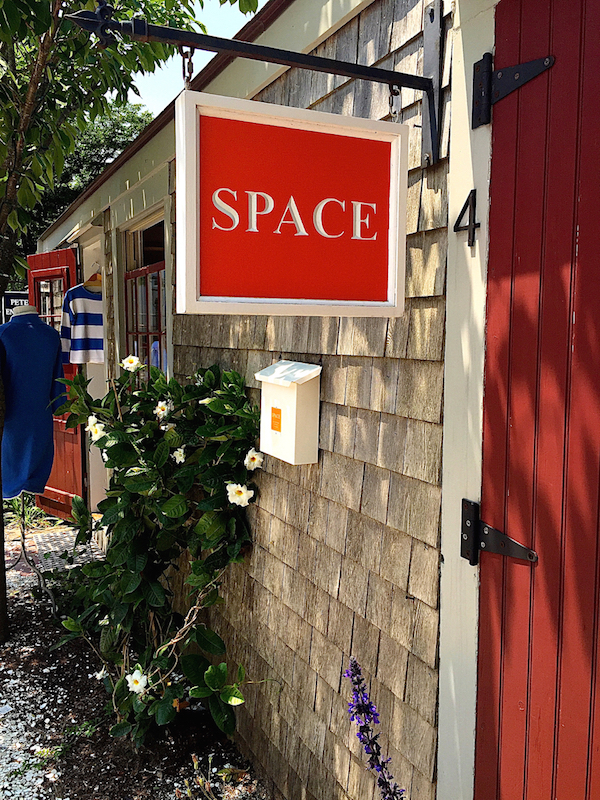 SPACE on the wharf on Nantucket