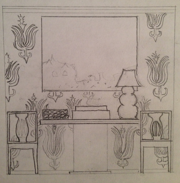 Sara Gilbane sketch