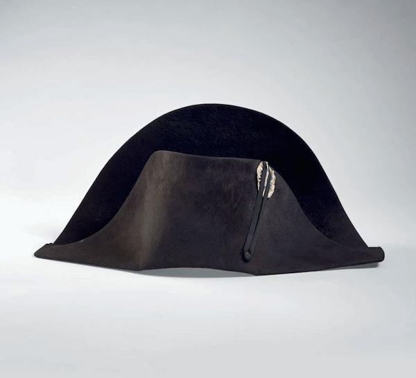 Napoleon's hat at Christie's Paris