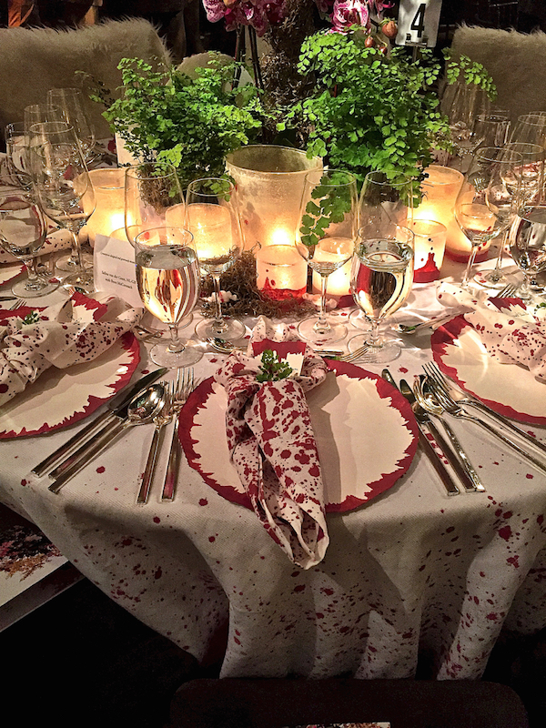 Selina van der Geest NL-GB Orchid Dinner 2015