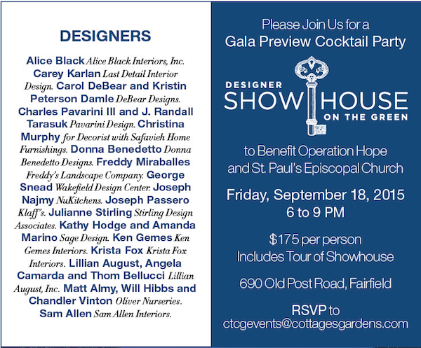 Showhouse on the Green Gala Preview Party